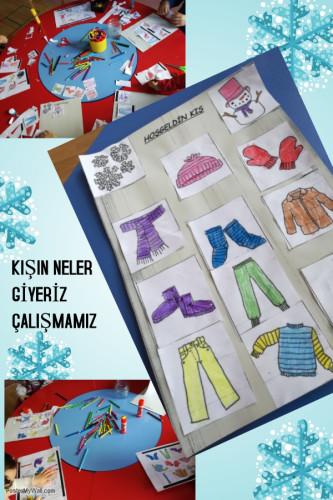 Artwork from the book - KIŞ BİR YILDAN DİĞERİNE KÖPRÜ KURAN MEVSİMDİR by sulekurt - Illustrated by ŞULE KURT - Ourboox.com