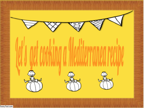 Let's get cooking Mediterranean recipes by meri - Ourboox.com