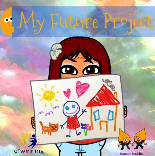 Artwork from the book - My Future Project by Rositsa Mineva - Illustrated by Teacher Rose - Ourboox.com