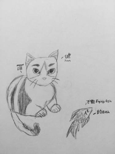 Chapter_One 第一章 by ₍⸍⸌̣ʷ̣̫⸍̣⸌₎  - Illustrated by Neko Creations: Me     - Ourboox.com