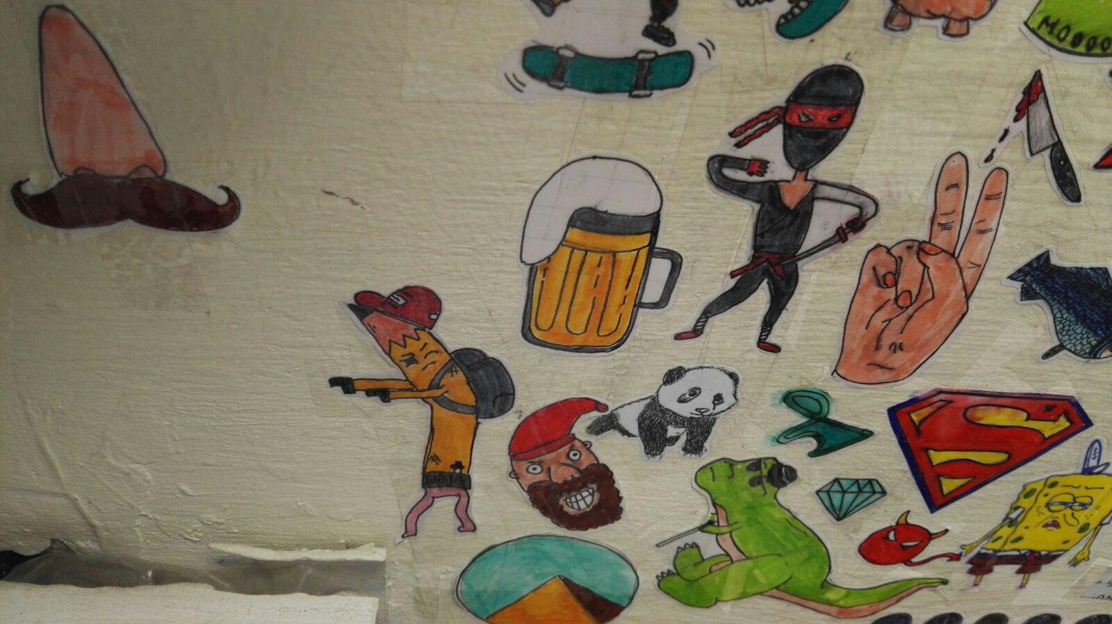 Artwork from the book - מרחבי הספה והספא – תמחקי הודעות, לא את עצמך: & המשוררת by Yoged - יגודז