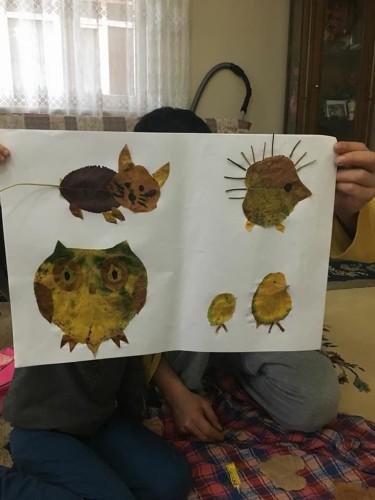Artwork from the book - BABACIĞIM BENİMLE OYNAR MISIN?PROJESİ ARALIK -OCAK ÇALIŞMALARIMIZ by KEVSER - Ourboox.com