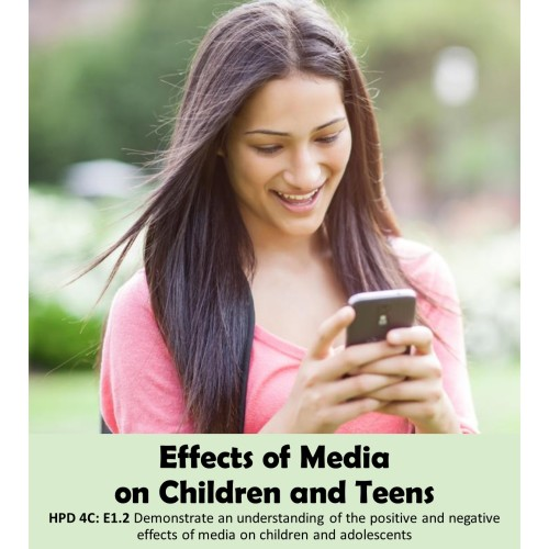 Artwork from the book - Effects of Media on Children and Teens by Lesia Hucal, BSc, BEd, RD - Ourboox.com