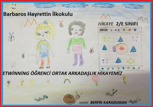 Artwork from the book - KARDELEN VE NASREDDİN HOCA by hasan bektaŞ - Ourboox.com
