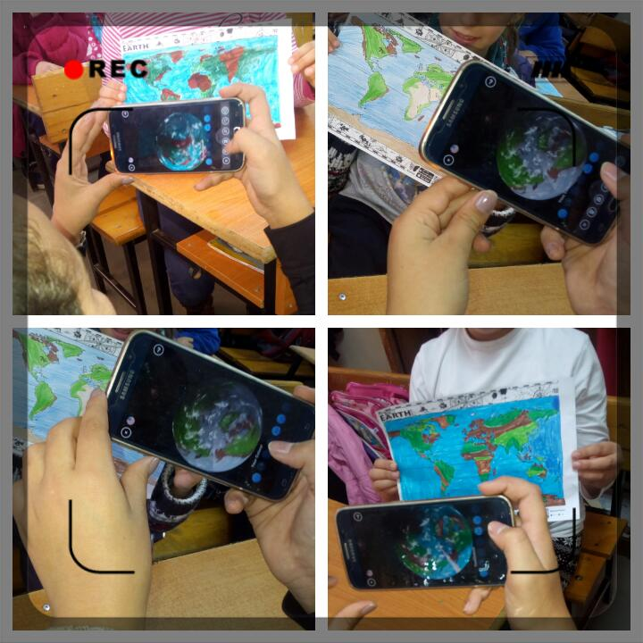 """SAVE THE PLANET by Ermira Arizi - Illustrated by By """"28 Nentori"""" school, Albania - Ourboox.com"""