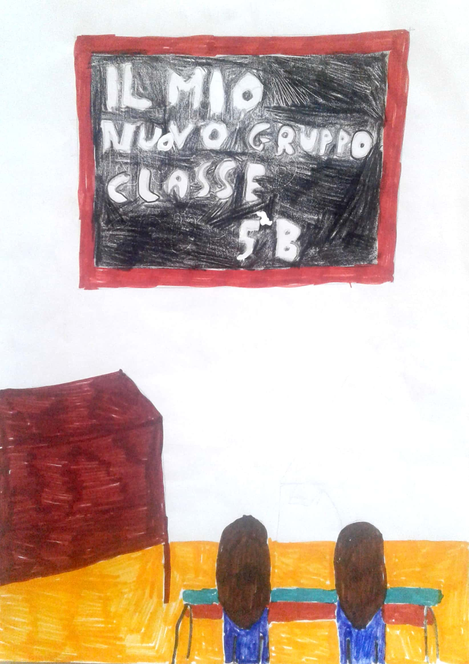 """Noi…Un anno trascorso insieme …passo dopo passo by Lucia Addiechi - Illustrated by Alunni classe 5 B """"A. Persia"""" - Ourboox.com"""