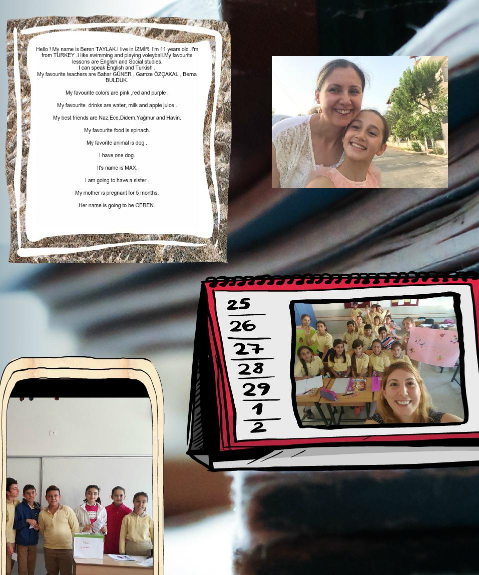 Artwork from the book - 21st Century Schools E-magazine by Bahar Guner - Illustrated by Bahar GÜNER,Fulya Uysal, Stella Tryfonidou,Zemira F. Duvelek,Sevil Gündüz,Büşra Şahin,Nadia Burym,Melek Sapan - Ourboox.com