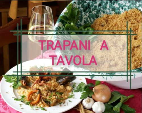 Artwork from the book - TRAPANI A TAVOLA by I.C.