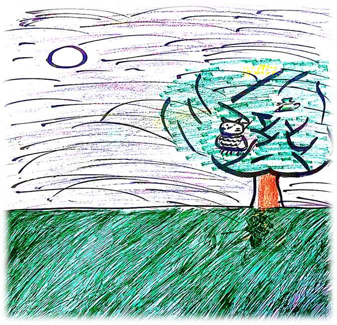 Artwork from the book - اْلأَوْلادُ وَأَزْهارُ الرَّبيعِ by Rehab Abu-Arar - Illustrated by تأليف رُسومات وَتَلْوين:  سِما عِزّات الصَّفَدي ألين رافِع عوَيْدات غِنى تَحْسين عوَيْدات روما رأفَت الصَّفَدي - Ourboox.com