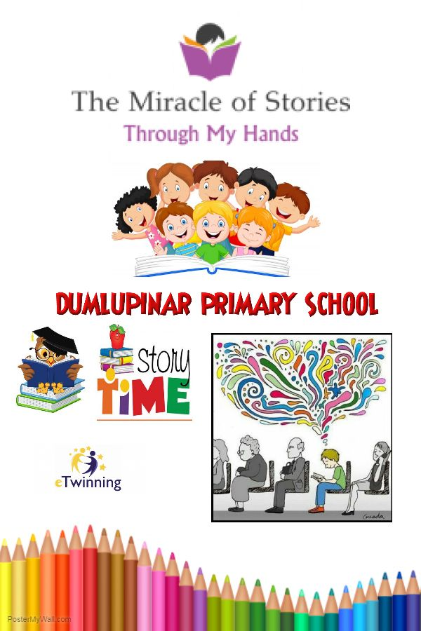 Artwork from the book - THE MIRACLE OF STORIES THROUGH MY HANDS by Etwinning  - Ourboox.com