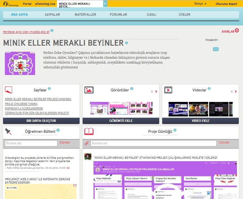 MİNİK ELLER MERAKLI BEYİNLER YIL SONU by hasan bektaŞ - Illustrated by BEKTAŞ PRODUCTİON - Ourboox.com