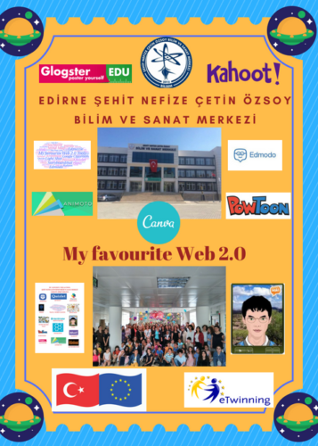 Artwork from the book - My Favourite Web 2.0 Story by mehtap öz - Illustrated by Mehtap Öz - Ourboox.com