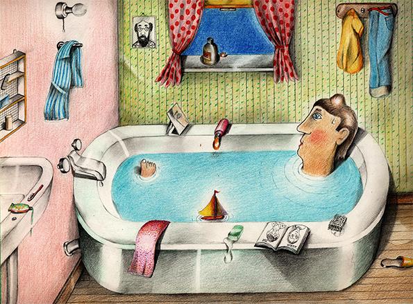 זכרונות ממאדים 1959 by Joseph Hirsch - Illustrated by Joseph Hirsch  - יוסי הירש - Ourboox.com