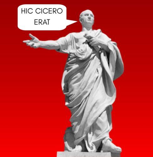 Artwork from the book - HIC CICERO ERAT by David Del Carlo - Illustrated by David Del Carlo - Ourboox.com