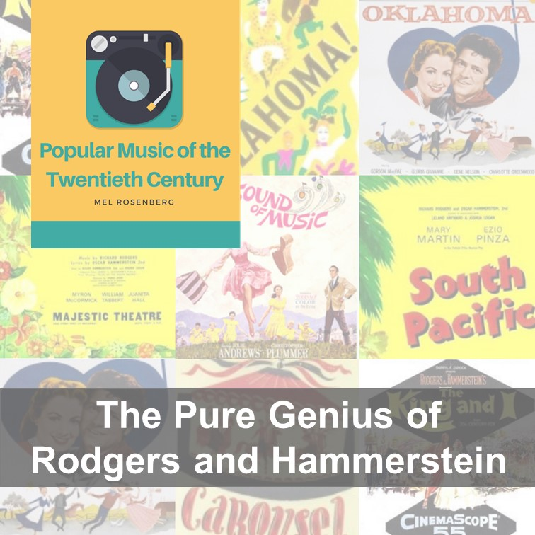 Artwork from the book - The Pure Genius of Rodgers and Hammerstein by Mel Rosenberg - מל רוזנברג - Ourboox.com