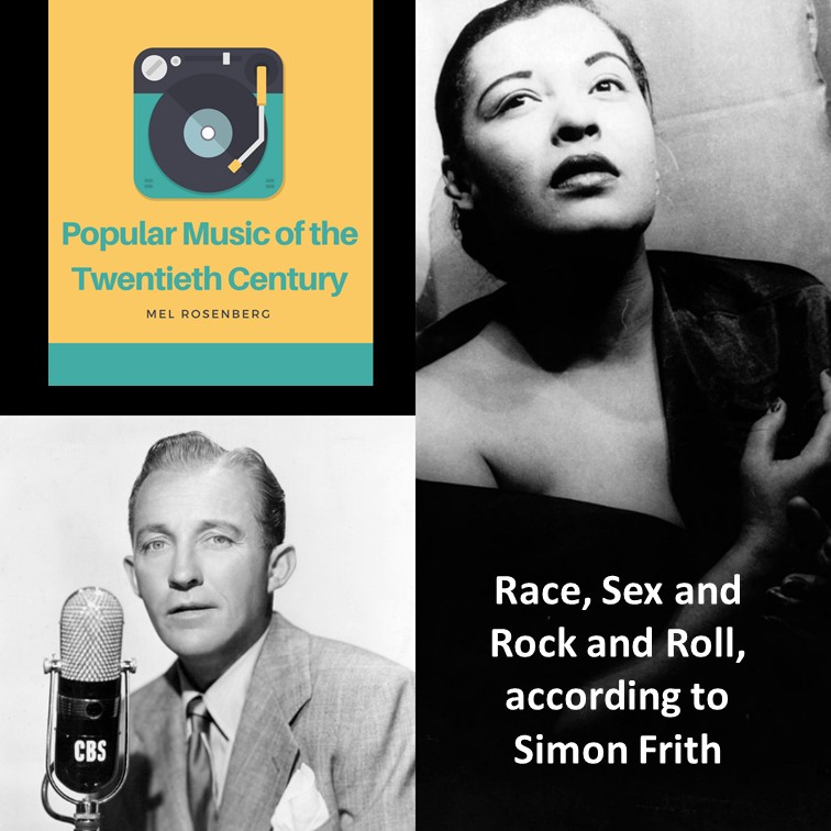 Artwork from the book - Race, Sex and Rock and Roll, according to Simon Frith by Mel Rosenberg - מל רוזנברג - Ourboox.com