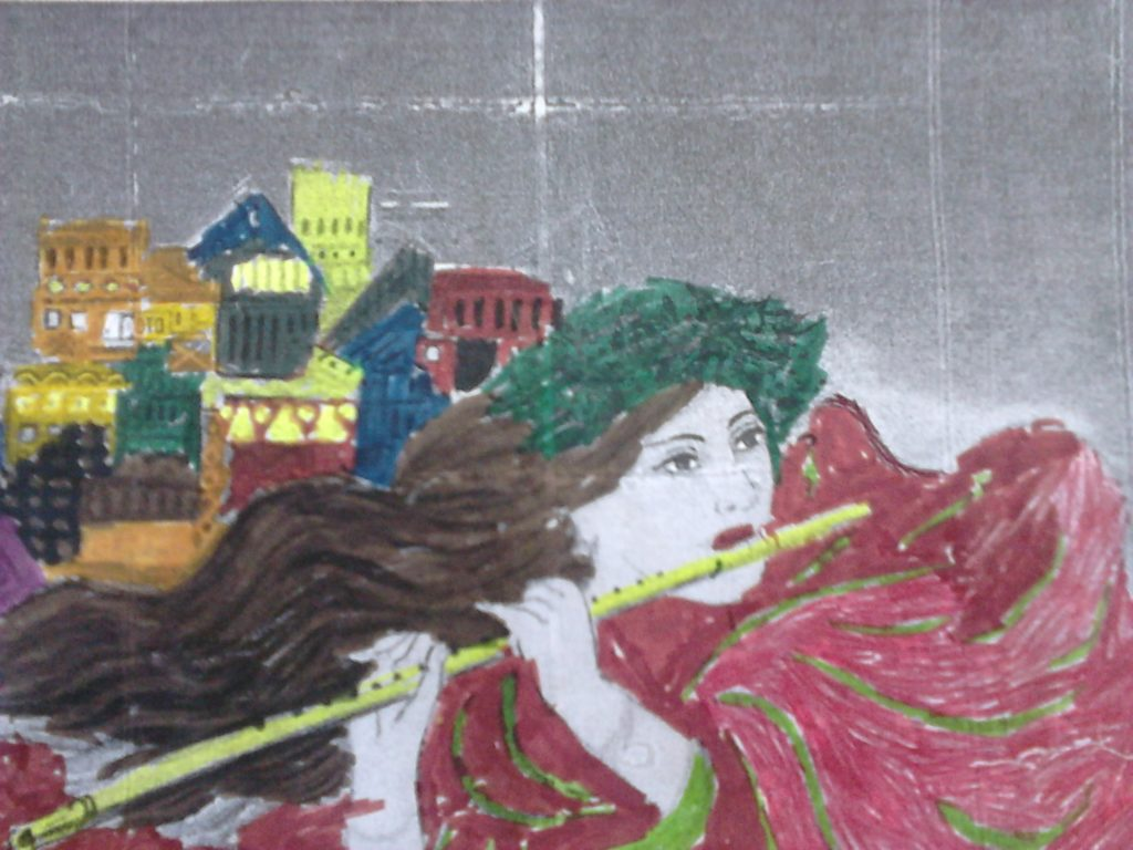 Artwork from the book - Our cultural heritage ! Painters and music! by katerinavel - Ourboox.com