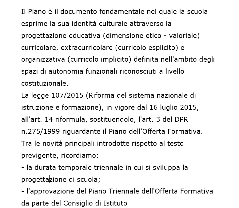 Artwork from the book - Poft – Piano Offerta Formativa Triennale by Progetto - Ourboox.com