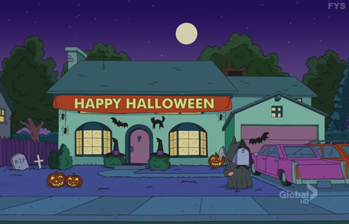Artwork from the book - The Simpsons Stories: Happy Halloween by Darcy May Partridge - Ourboox.com