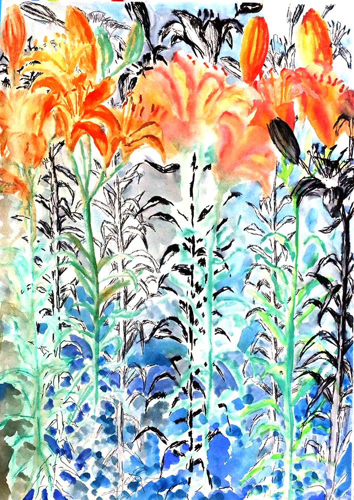 flowers paintings realistic flower painting by israeli painter raphael perez