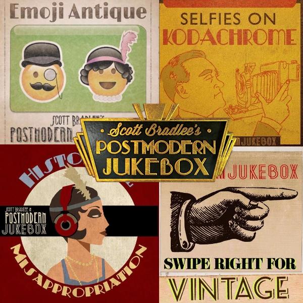Artwork from the book - Postmodern Jukebox Vs. Originals by Gal Bezalel - Ourboox.com
