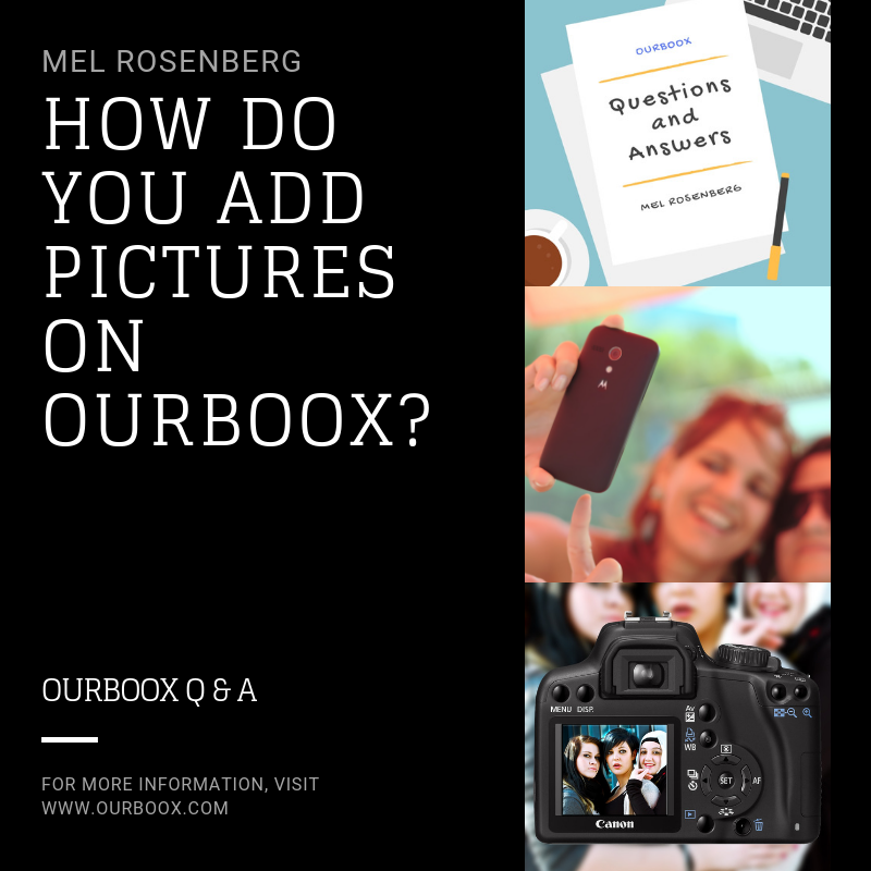 Artwork from the book - How do you Add Pictures on Ourboox? by Mel Rosenberg - מל רוזנברג - Ourboox.com