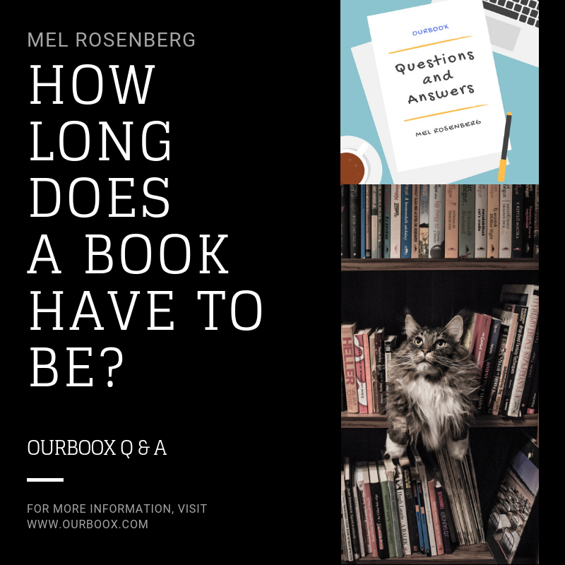 Artwork from the book - How Long Does a Book Have to Be? by Mel Rosenberg - מל רוזנברג - Ourboox.com