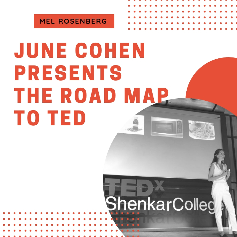 Artwork from the book - June Cohen Presents the Road Map to TED by Mel Rosenberg - מל רוזנברג - Ourboox.com