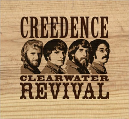 Artwork from the book - Creedence Clearwater Revival: Popularization by War by Ido Keinan - Ourboox.com