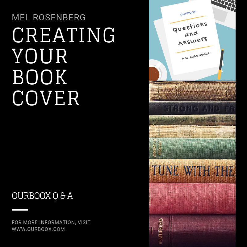 Artwork from the book - Creating Your Book Cover by Mel Rosenberg - מל רוזנברג - Ourboox.com