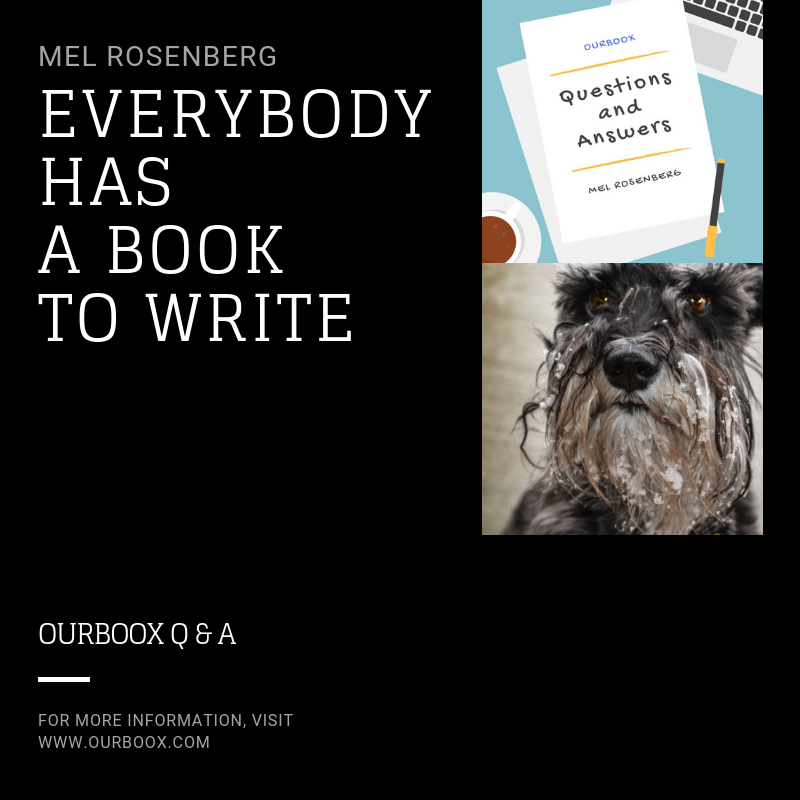 Artwork from the book - Everybody Has a Book to Write by Mel Rosenberg - מל רוזנברג - Ourboox.com