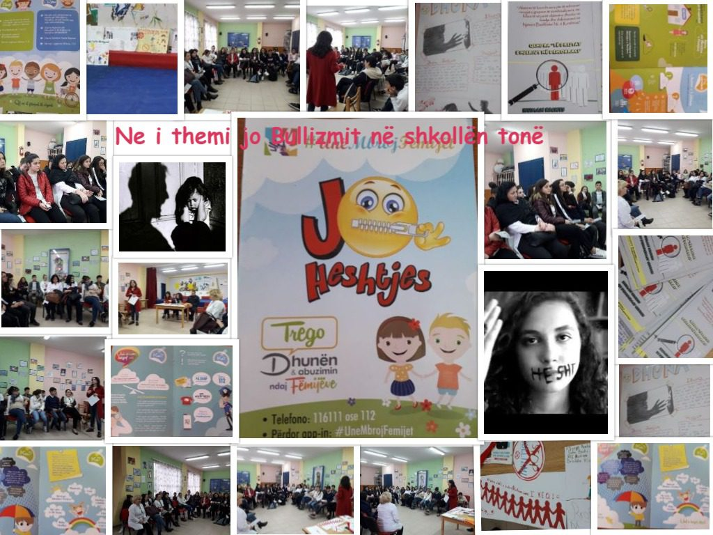 No bullying in school by Donika Lici - Ourboox.com