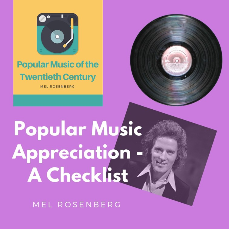 Popular Music Appreciation by Mel Rosenberg - מל רוזנברג - Ourboox.com