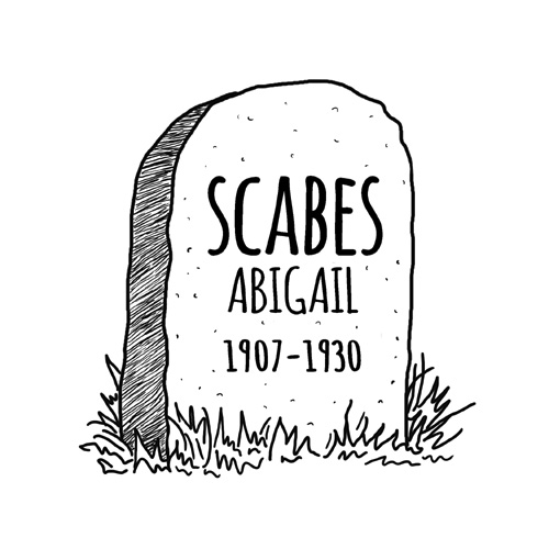 Artwork from the book - Abigail Scabes by Nick Baker - Illustrated by Sadie Giraud - Ourboox.com