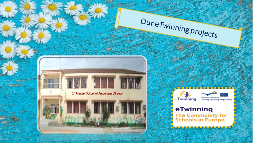 Etwinning projects in the 1st Primary School of Ampelonas /Greece by katerinavel - Ourboox.com