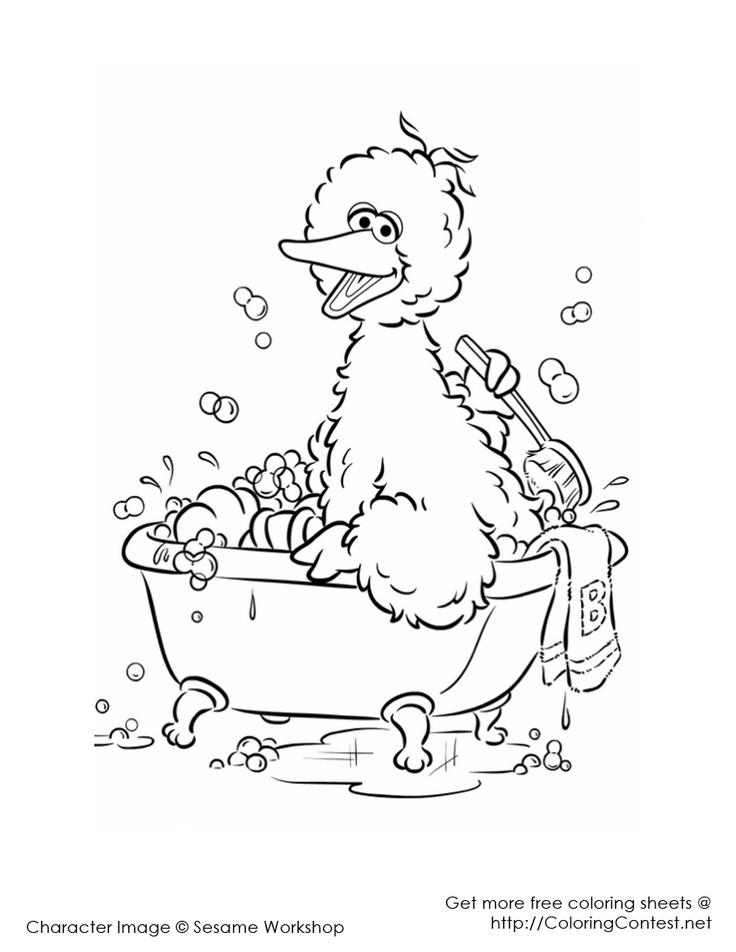 Sesame Street   Kolorowanki, Komiksy   952x736
