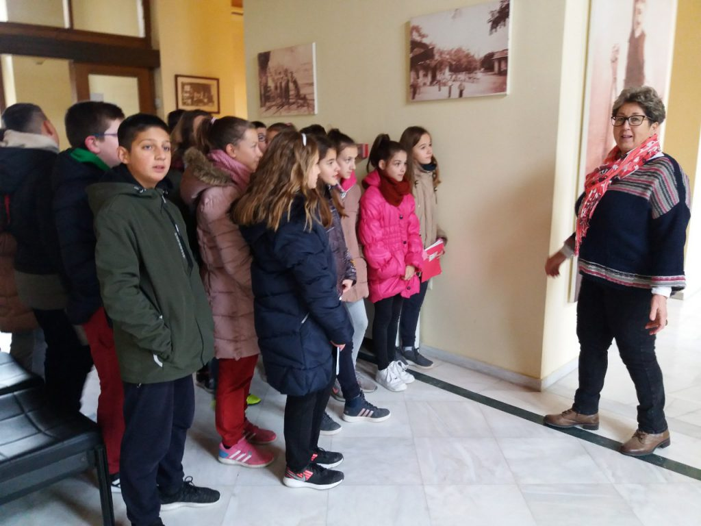 Educational Visit to the Town Hall of Ampelonas by katerinavel - Ourboox.com