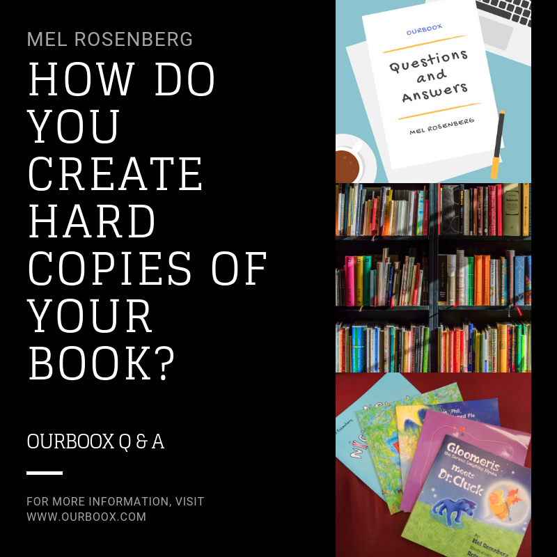 Artwork from the book - How Do You Create Hard Copies of Your Book? by Mel Rosenberg - מל רוזנברג - Ourboox.com