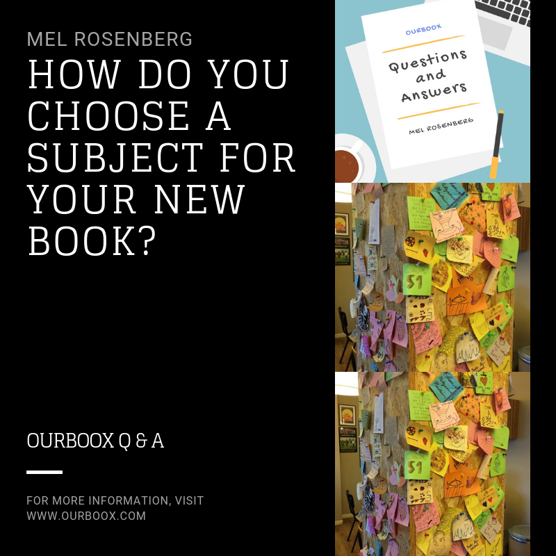 How Do You Choose a Subject for Your New Book? by Mel Rosenberg - מל רוזנברג - Ourboox.com
