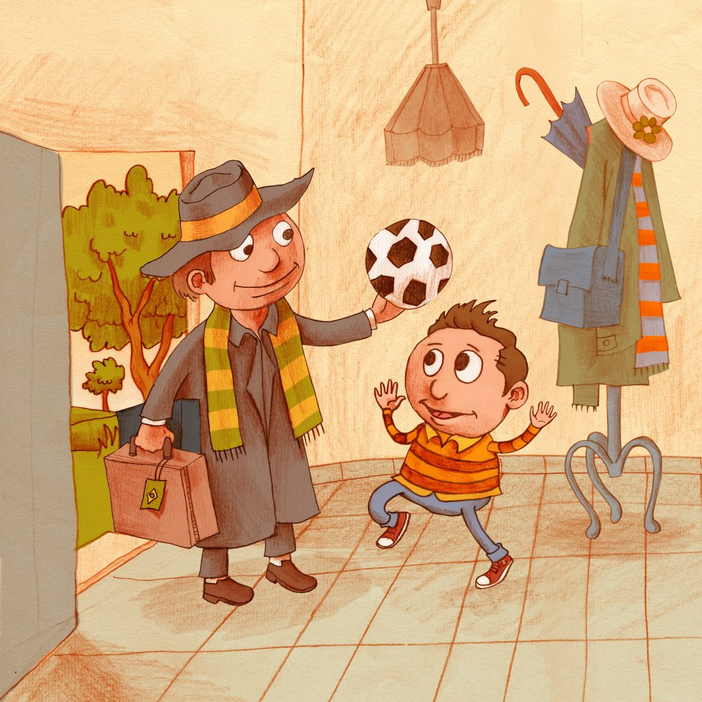 Artwork from the book - Picture Books for Children – Checklist by Mel Rosenberg - מל רוזנברג - Illustrated by cover by Etzion Goel - Ourboox.com