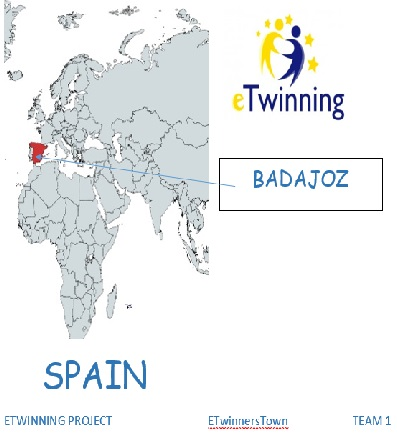 TEAM 1 ETwinnersTown Project BADAJOZ by eTwinnersTown  - Illustrated by TEAM 1 - Ourboox.com