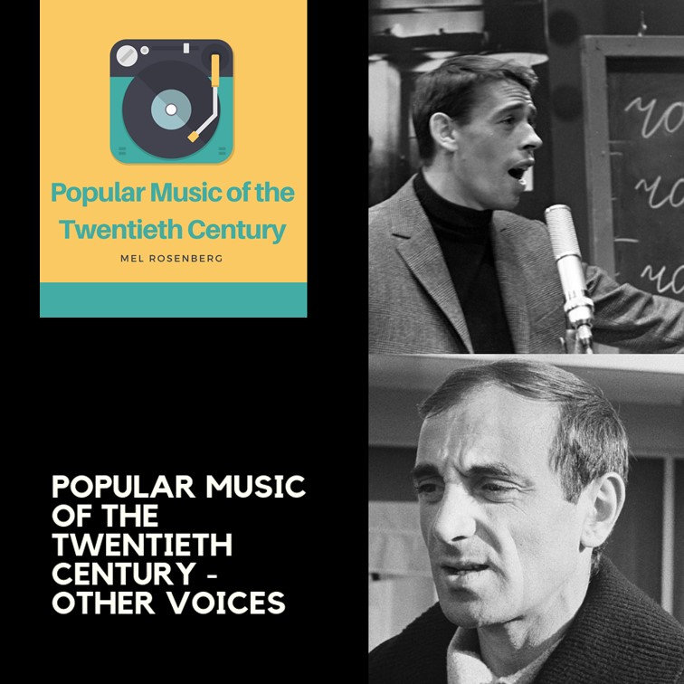 Artwork from the book - Popular Music of the Twentieth Century – Other Voices by Mel Rosenberg - מל רוזנברג - Ourboox.com