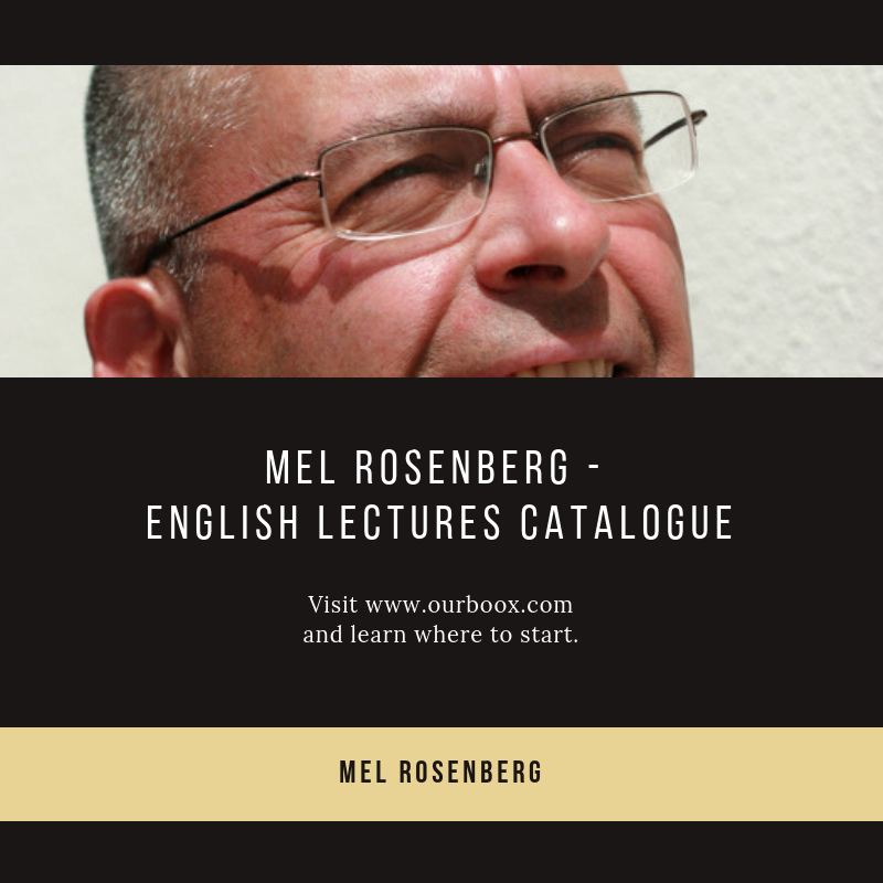 Artwork from the book - Mel Rosenberg – English Lectures Catalogue by Mel Rosenberg - מל רוזנברג - Ourboox.com