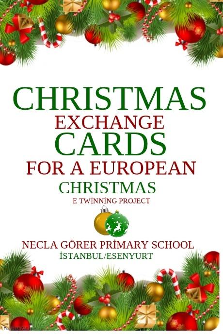 Christmas cards exchange for a European Christmas by ilker yılmaz - Ourboox.com