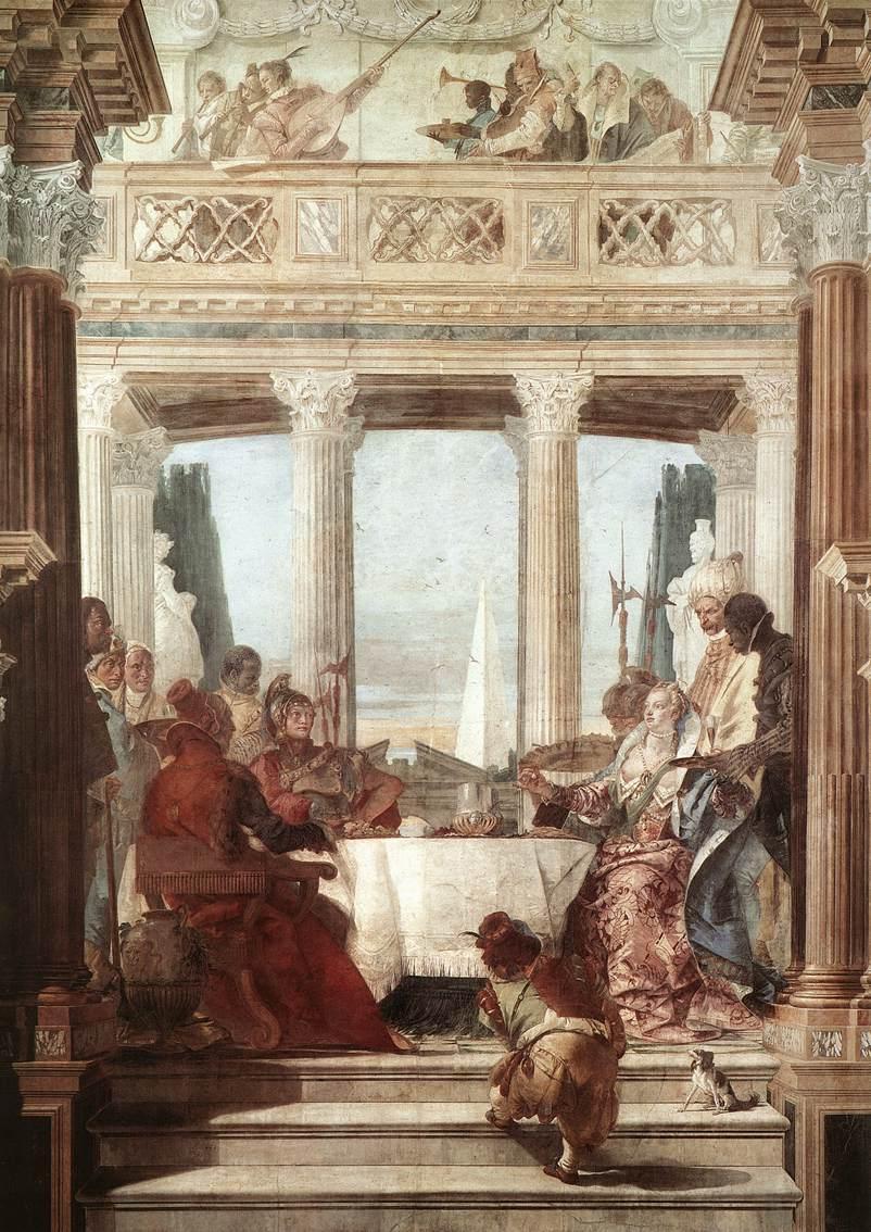 Artwork from the book - Cleopatra,Venere d'Egitto by Ioana loco - Illustrated by Ioana Loco & Gagliardini Michela - Ourboox.com