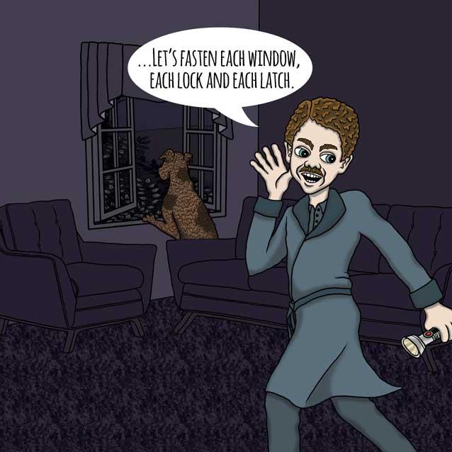 Bernard the Bogeyman by Nick Baker - Illustrated by Sadie Giraud - Ourboox.com