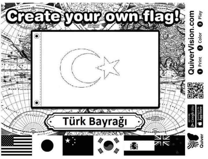 Turk Bayragi Quiver Ourboox