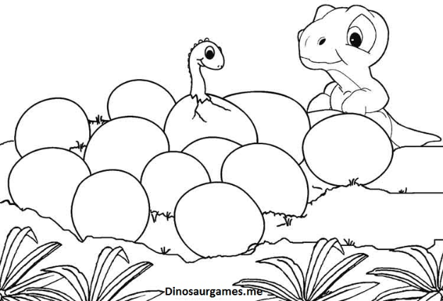 Dinosaur Coloring Pages Fun Activity For Those Who Love