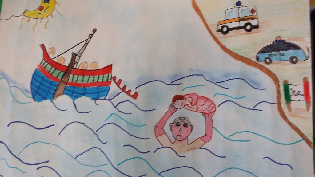 Artwork from the book -  by Alunni delle classi 5^ C - D Students of classes 5 ^ C - D - Ourboox.com