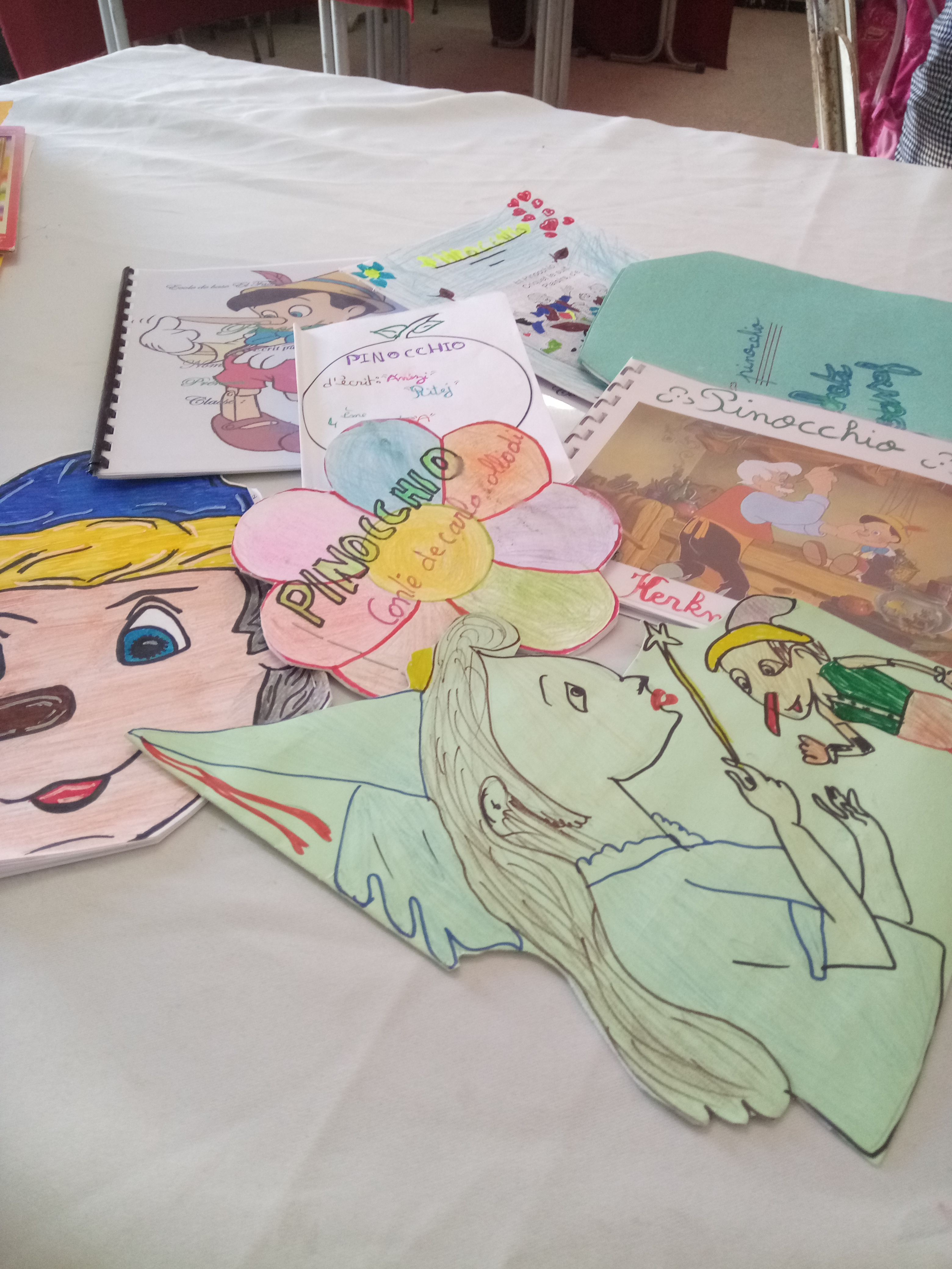 Pinocchio by Maha Omezine - Illustrated by students - Ourboox.com
